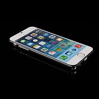 Алюминиевый бампер с защелкой для iPhone 6/6S plus серый, фото 1
