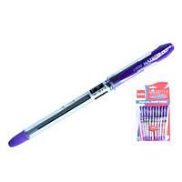 Ручка масляная Maxrіter Cello, фиолетовая
