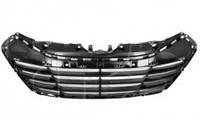 Решетка бампера для Hyundai ix-35 '10-15 средняя, черная (корея) (FPS)