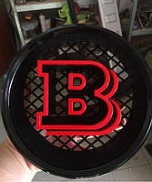 Эмблема Brabus в решетку (RED)