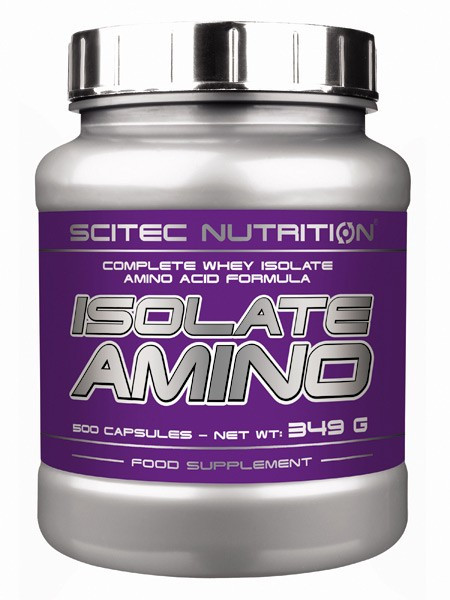 Scitec Nutrition Isolate Amino 500 caps