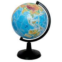 Глобус 918840 с физической картой мира, 22 см
