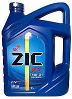 Моторное масло полусинтетика ZIC X5 10w40 6л.