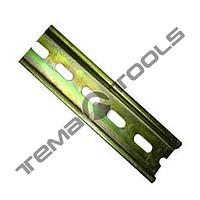 Монтажная DIN-рейка 35x7,5 мм перфорированная на 1-2 автомата (0,6-0,7 мм)
