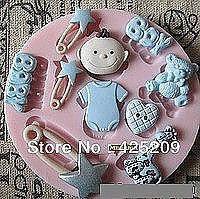 Молд силиконовый Набор детский (для мальчика)