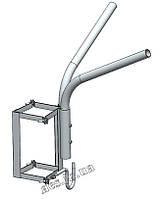 Кронштейн (двухрожковый) для светильника уличного освещения О1С2Г120