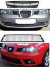 Решетка бампера для Seat Ibiza '02-08 средняя, нижняя (Tempest)