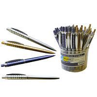 Ручка автоматическая шариковая Партнер, 3 цвета микс (YS1050) (1050)