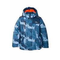 Куртка зимняя темно-синяя  для мальчика Goldy (32-01-ЗМ-16)