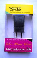 Сетевое зарядное устройство USB 2А VOLTEX, фото 1