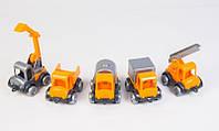 Набор машинок Маленький строитель 5 шт (39371), фото 1