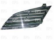 Решетка радиатора для Nissan Primera '02-08 с хром молдингом (FPS)