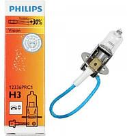 """Автомобильная галогенная лампа """"PHILIPS"""" (H3)(Premium)(+30%), фото 1"""