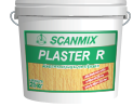 Фасадная декоративная штукатурка SCANMIX  PLASTER R  Короед акрил 25 кг (0885)