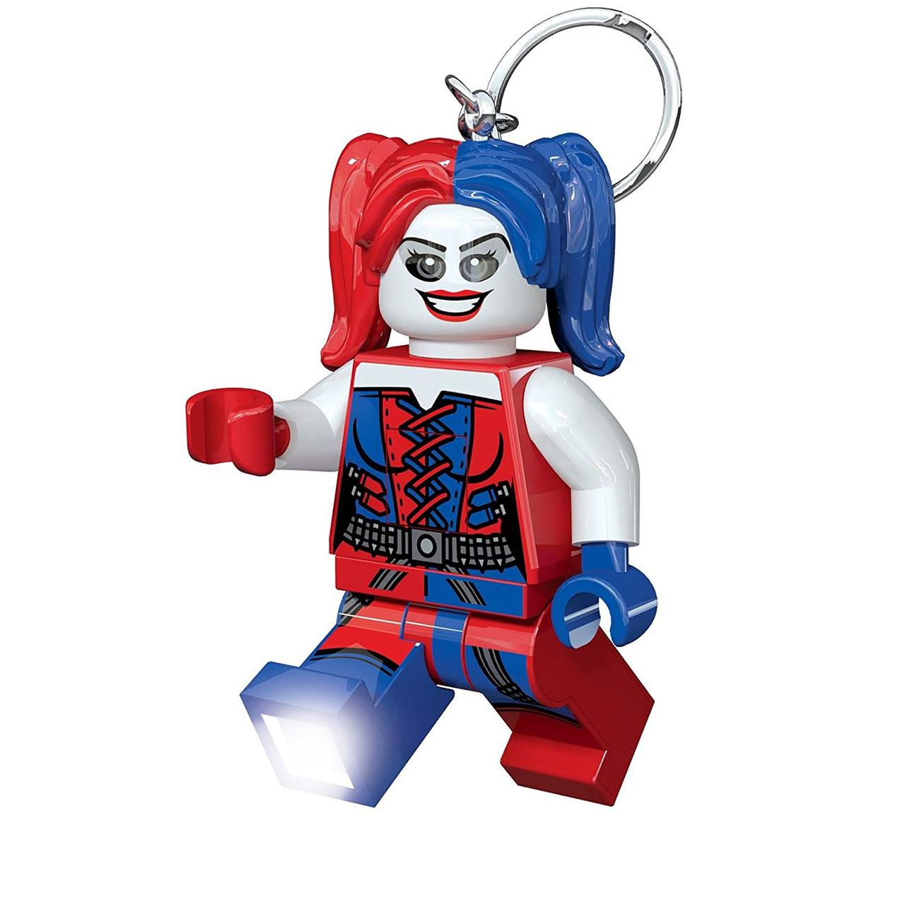 Lego Брелок-фонарик Супергерои Харли Квинн Keylight DC Superhero Harley Quinn IQLGL-KE99