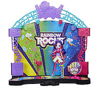 My Little Pony Equestria Girls Девочки Эквестрии Игровой набор Рок-концерт Rainbow Rocks Mane Event Stage, фото 1