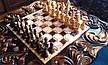Шахматный стол резной, фото 3