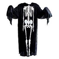Костюм скелета (накидка), аксессуар на Хэллоуин