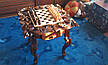 Шахматный стол резной, фото 5
