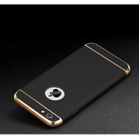 Чехол-накладка 3 в 1 для iPhone 6/6S plus черный, фото 1