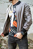 Куртка-ветровка однотонная