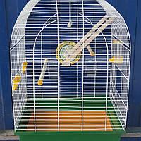 Клетка для попугая Люси с деревьяным комплектом