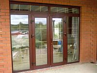 Заказать двери металлопластиковые в Херсоне с доставкой и монтажом