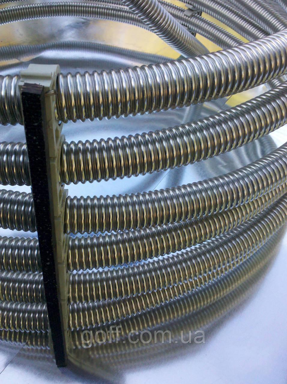 Гофрированная труба из нержавейки 20А, неотожженная, фото 1