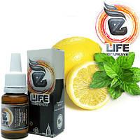Жидкость для электронных сигарет eLife Лимон с мятой 10 мл, 12 мг/мл