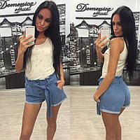 Женские джинсовые шорты Р 1301