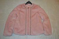 Гламурная меховая куртка Gaialuna 42 размер.