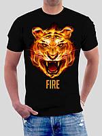"Футболка ""Огненный тигр"""