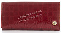 Лаковый элитный кожаный качественный стильный женский кошелек MARIO VERONNI art. MV-5181A красный, фото 1