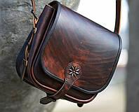 Сумка кожаная - Мессенджер (охотничья) , фото 1