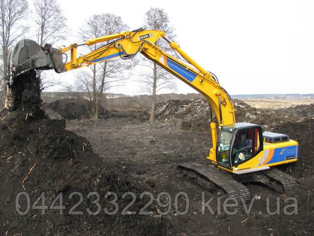 Купить чернозем с доставкой в Киевской области и Киеве