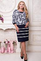 Платье-костюм в испанском стиле р 52,54,56,58,60