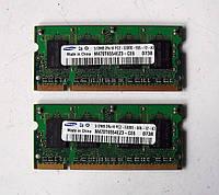 209 Память SO-DIMM DDR2-667 512МБ PC2-5300 Samsung для ноутбуков