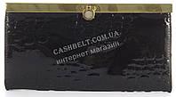 Лаковый элитный кожаный качественный стильный женский кошелек MARIO VERONNI art. MV-2306A черный, фото 1