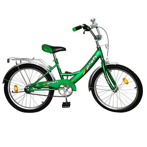 """Велосипед детский двухколесный 20"""" 2042 ПрофиI зеленый"""