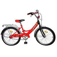 """Велосипед 20"""" 2046 PROFI красно-черный"""