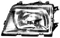 Оптика 1216322, 90006940; KLOKKERHOLM 50750123; BOSCH 0301063131, 1307022039 на Opel Ascona