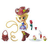 My Little Pony Equestria Girls Девочки Эквестрии Эпл Джек Школьная дискотека Minis Apple Jack School Dance Set