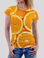 Футболка женская Сочный апельсин