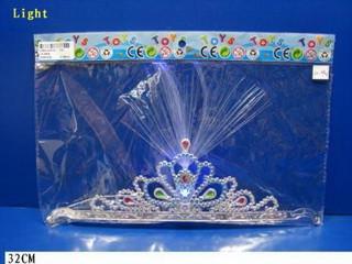 Корона Принцессы карнавал светится мигает