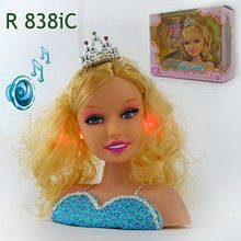 Манекен кукла Betty, музыка, свет, высота куклы 17см