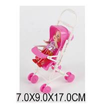 Кукла маленькая с коляской 666-21