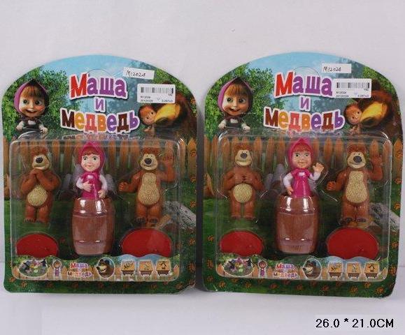 Кукла фигурки Маша и Медведь 12024