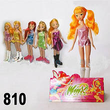 Кукла Винкс Winx 810 без крылышек в пакете 30см