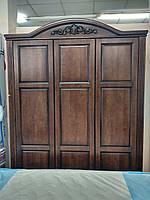 Шкаф из массива Флоренция (орех)