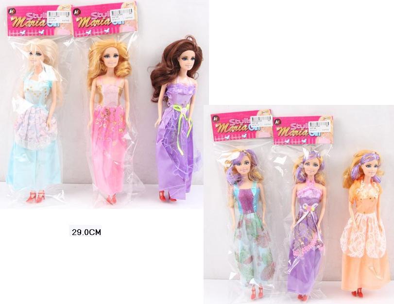 Кукла типа Барби 2027-68 пакет